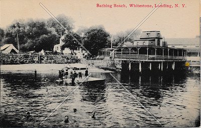 Bathing beach, Whitestone