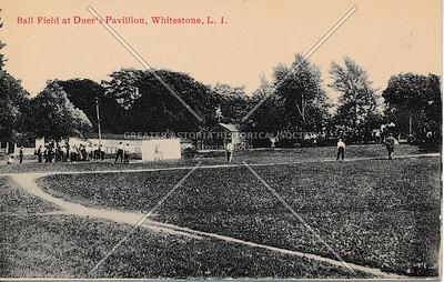 Duer's Pavilion ballfield, Whitestone
