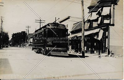 Whitestone's first trolley
