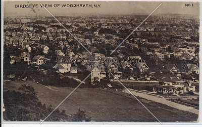 Aerial view, Woodhaven