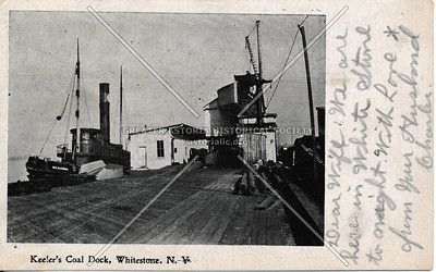 Keeler's Coal Dock, Whitestone