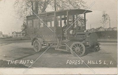 Bus ca. 1910, Forest Hills