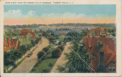 Aerial view of Forest Hills Gardens