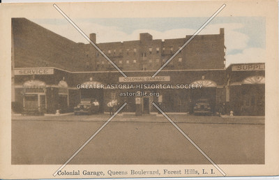 Colonial Garage, Forest Hills