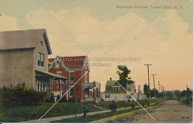 Seminole Ave (112 St), Forest Hills