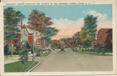 Greenway North, Church in the Gardens, Forest Hills