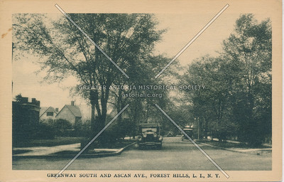 Greenway South and Ascan Avenue, Forest Hills