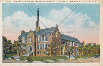 Our Lady Queen of Martyrs school, Forest Hills