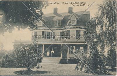 David Springsteen residence, Forest Hills