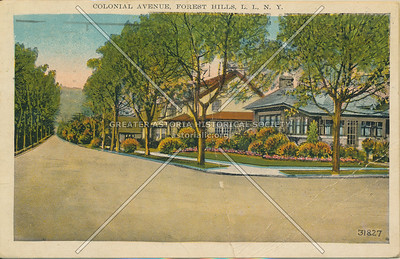 Colonial Ave (110 St), Forest Hills