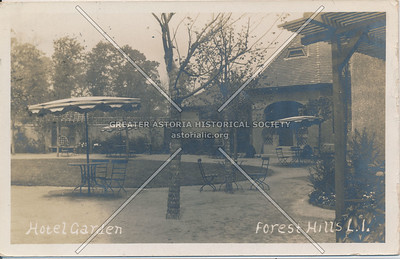 Hotel garden, Forest Hills