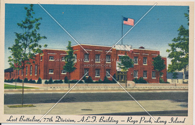77th Division armory, Queens Blvd., Forest Hills