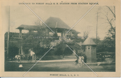 Long Island Rail Road station, Forest Hills
