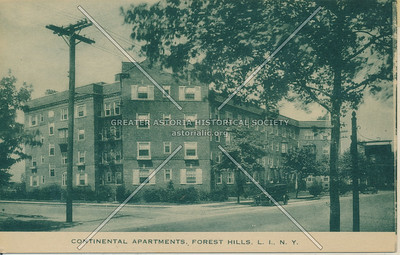 Continental Apartments, Forest Hills