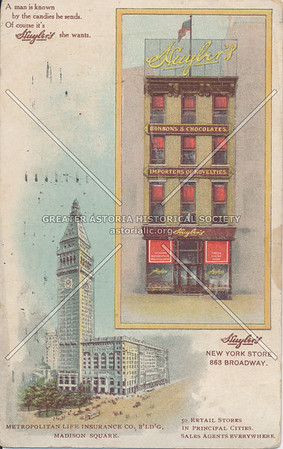 Huyler's New York State, 863 Broadway, N.Y.