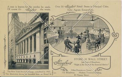 Huyler's Store, 10 Wall Street, N.Y.