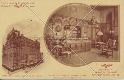 Huyler's Candy Booth, Waldorf-Astoria Hotel, N.Y.