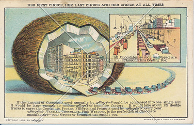 Huyler's Chocolate Manufacturer, N.Y.