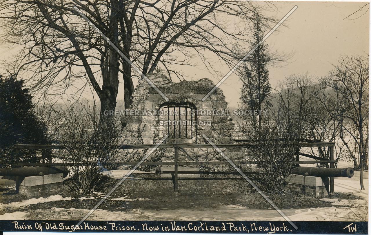 "Ruin of ""Old Sugar House"" Prison. Van Cortlandt Park, N.Y."
