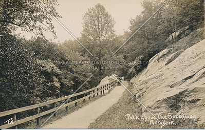 Path about the Speedway (High Bridge Park), N.Y.