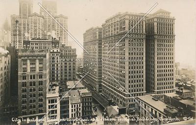 City Investment New York Law School & Hudson Terminal Buildings, N.Y.