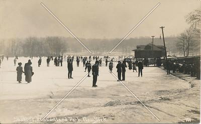 Skating, Van Cortlandt Park, N.Y.