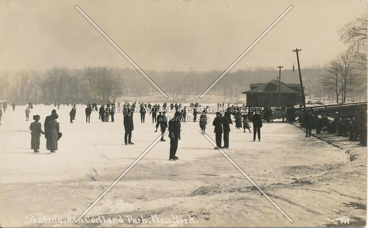 Skating, Van Cortland Park, N.Y.