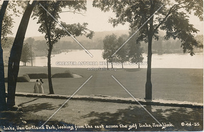 Lake, Van Cortlandt Park, looking from the East across the golf links, N.Y.