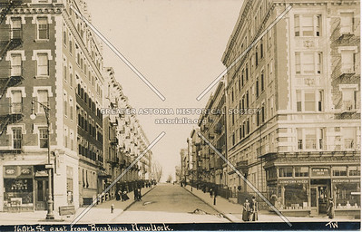 160th St., East from Broadway, N.Y.