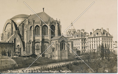 St. John The Divine & St. Lukes' Hospital, N.Y.