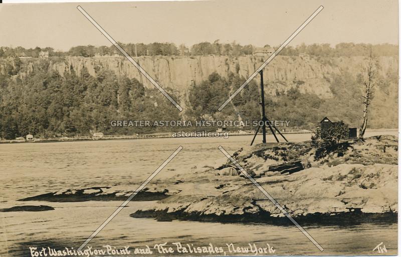 Fort Washington Point & the Palisades, N.Y.