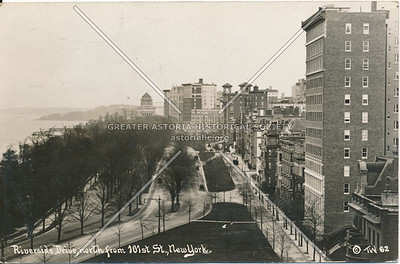 Riverside Drive, North from 101st St., N.Y.
