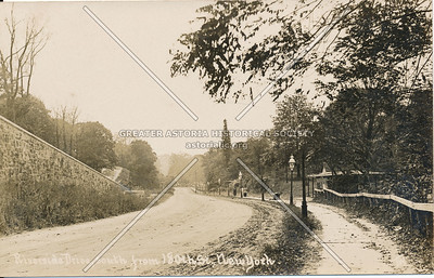 Riverside Drive, South from 180th St., N.Y.