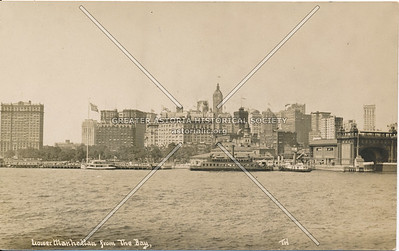 Lower Manhattan from the Bay, Manhattan, N.Y.