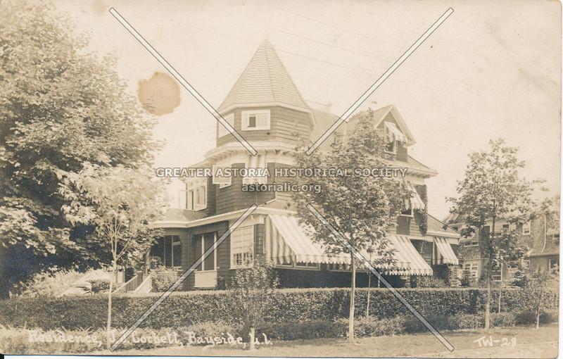 Residence, J.J. Corbett, Bayside, L.I.