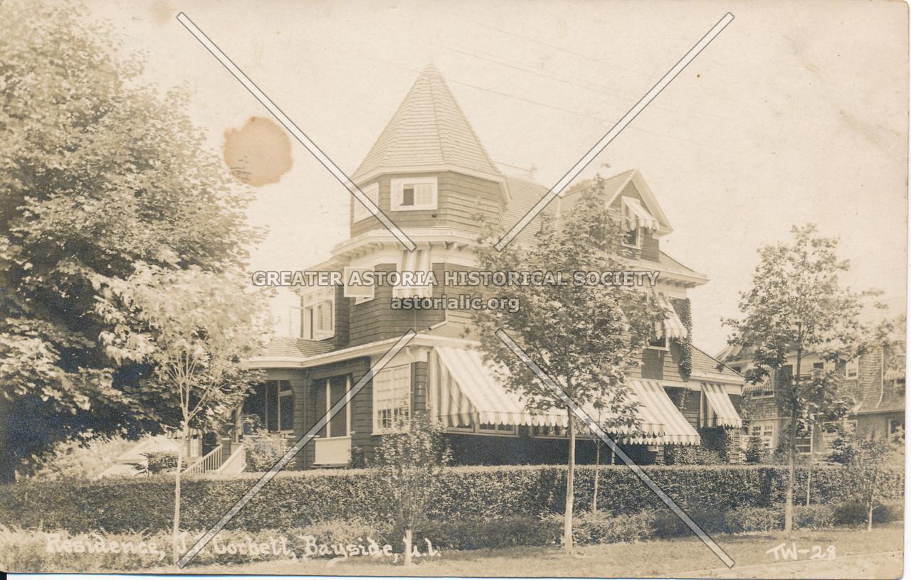Residence, J.J. Cochett, Bayside, L.I.