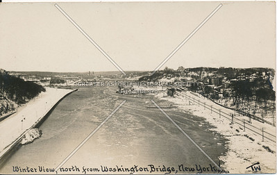 Winter View, North from Washington Bridge, N.Y.