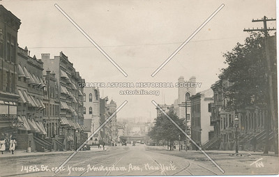 145th St., East from Amsterdam Ave., N.Y.