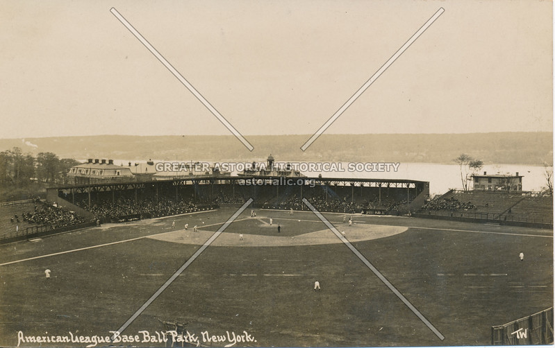 American League Base Ball Park, N.Y.