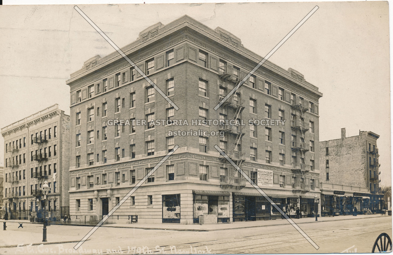 S.E. Broadway & 179th St., N.Y.