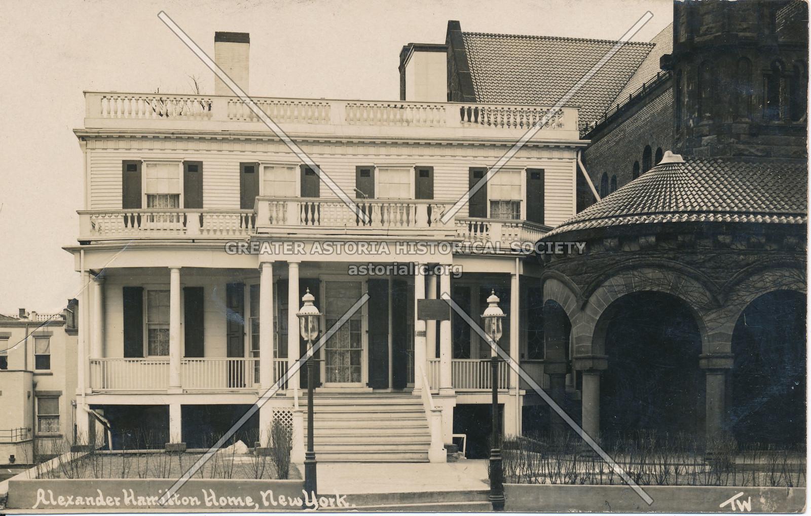 Alexander Hamilton Home, N.Y.