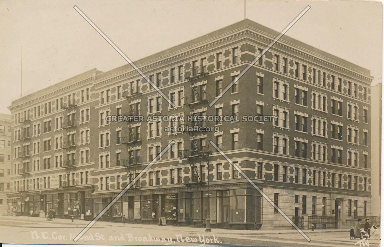 N.E. Cor 162nd St & Broadway, N.Y.