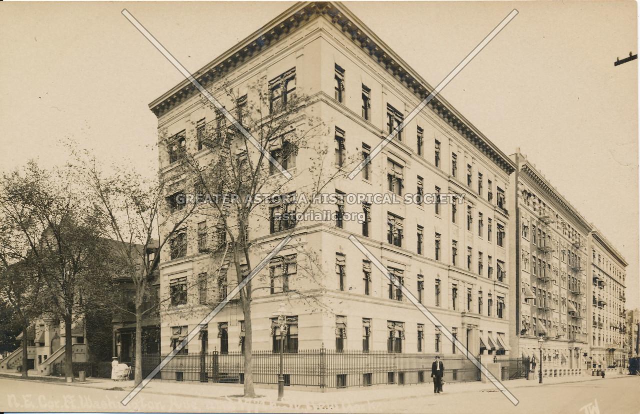 N.E. Cor, Washington Ave, & 177th St., N.Y.