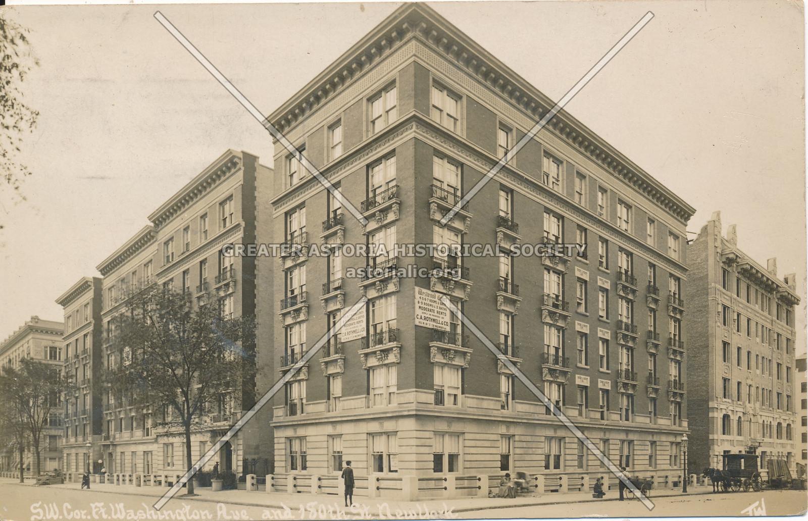 S.W. Cor., Fort Washington Ave & 180th St., N.Y.