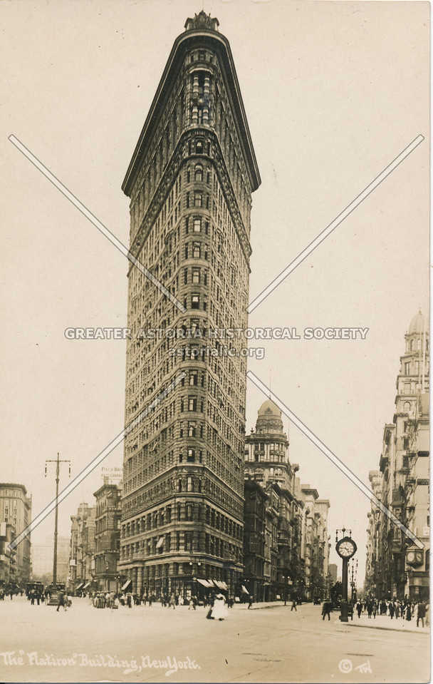 "The ""Flatiron"" Building, N.Y."