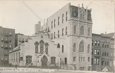 Church of St. Matthew, 145th & Convent Ave., N.Y.