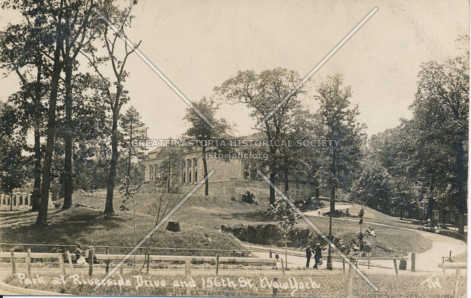 Park at Riverside Drive & 156th St., N.Y.