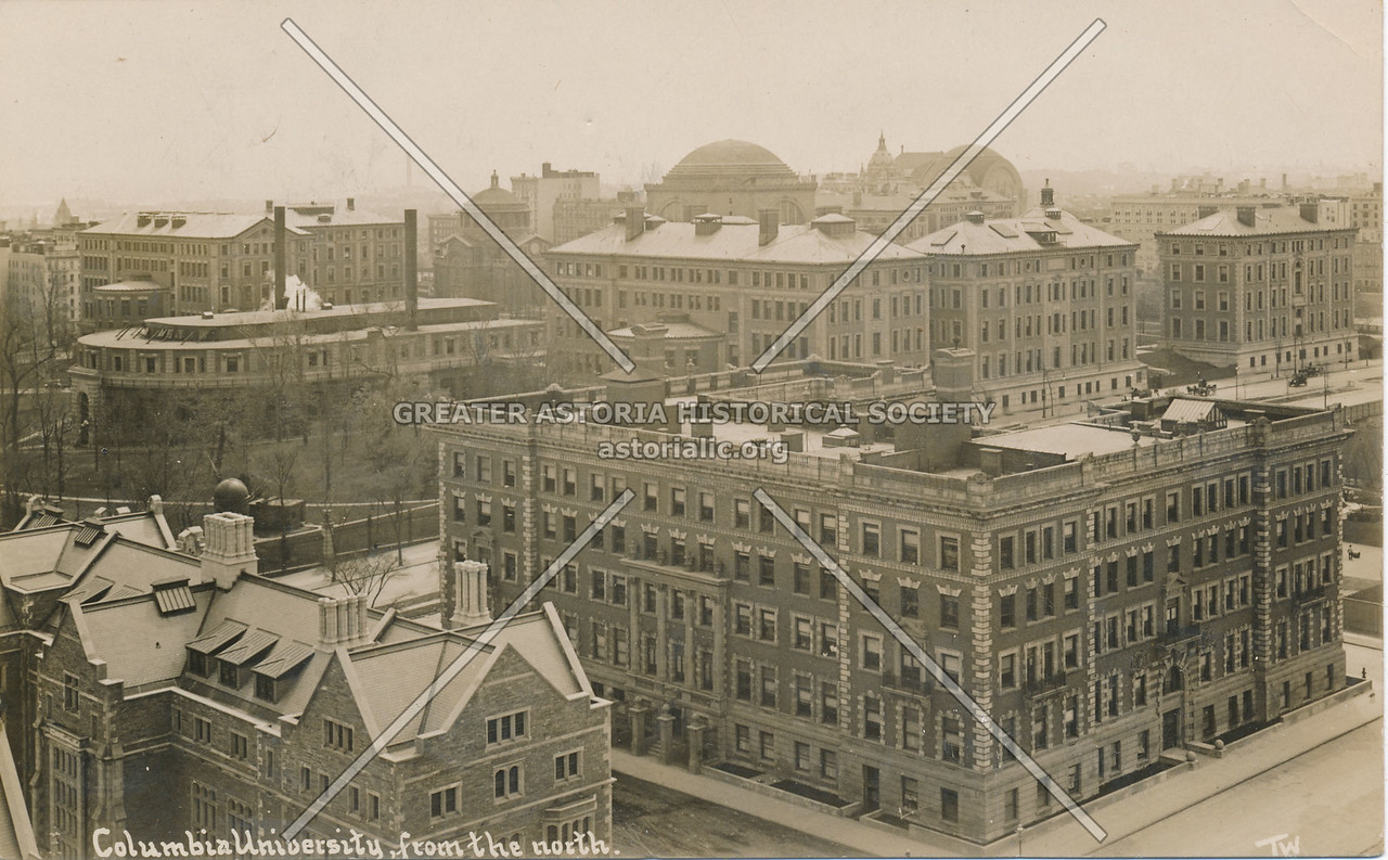 Columbia University, from the North, N.Y.