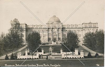 Museum, Botanical Garden, Bronx Park, N.Y.