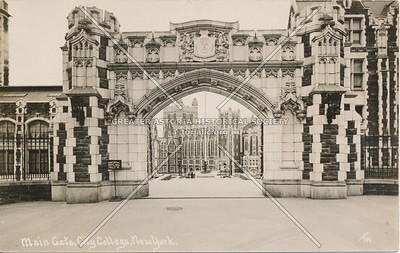 Main Gate, City College, N.Y.